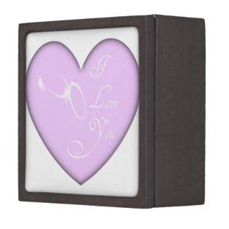 愛結婚指輪の宝石箱 ギフトボックス