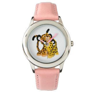 愛腕時計のかわいい漫画のジャガー 腕時計