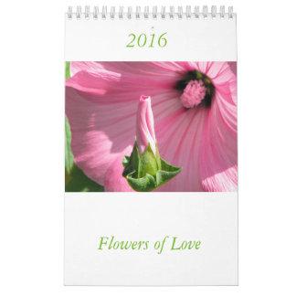 愛花のカレンダーのSimbols カレンダー