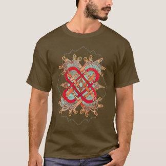 愛芸術家、隠された山のためのヘブライ単語 Tシャツ