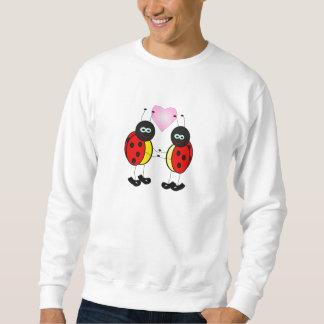愛虫のてんとう虫の漫画 スウェットシャツ