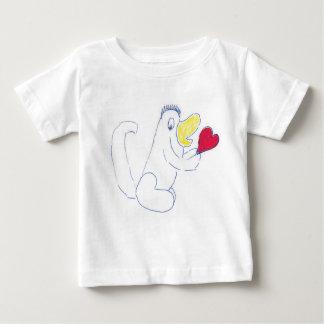 愛虫のジャージーのベビーのTシャツ ベビーTシャツ