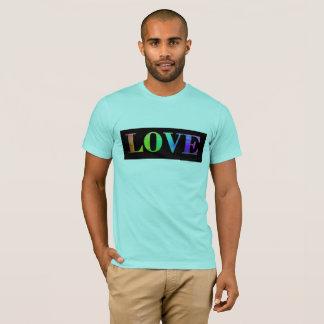 愛虹LGBTゲイプライドのワイシャツ Tシャツ