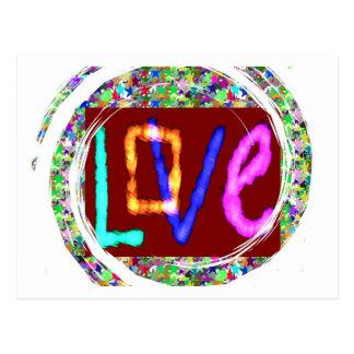 愛表現: 今度は愛nの上昇は拡大しますそれを行きます ポストカード