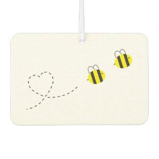愛車の芳香剤の蜂 カーエアーフレッシュナー