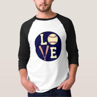 愛野球(レトロ) Tシャツ
