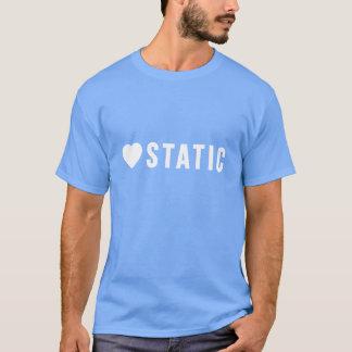 愛静的なTシャツ(白いロゴ) Tシャツ