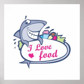 愛食糧鮫 ポスター