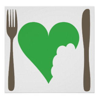 愛食糧、愛野菜 プリント