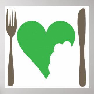 愛食糧、愛野菜 ポスター