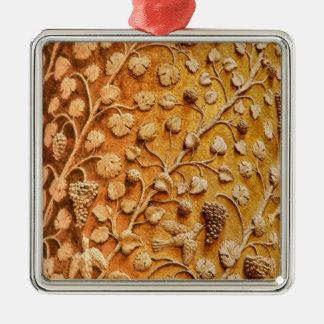 愛鳥およびブドウつる植物のヴィンテージの装飾的な芸術 メタルオーナメント