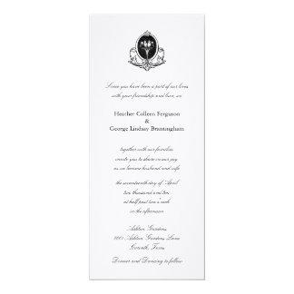 愛鳥のシンプルの結婚式招待状 カード