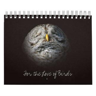 愛鳥の元の野生の鳥の写真撮影オンタリオ カレンダー
