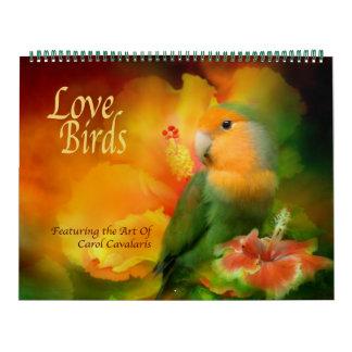 愛鳥の芸術のカレンダー カレンダー