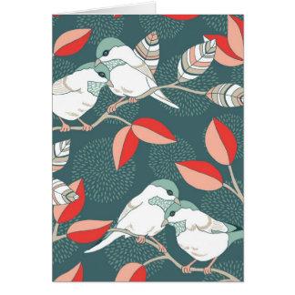 愛鳥-たそがれ カード