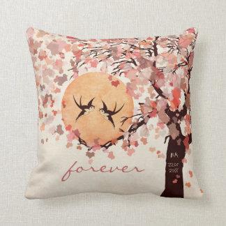 愛鳥-秋の結婚式記念日の枕 クッション