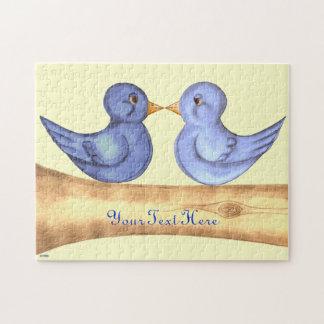 愛鳥(青い) ジグソーパズル