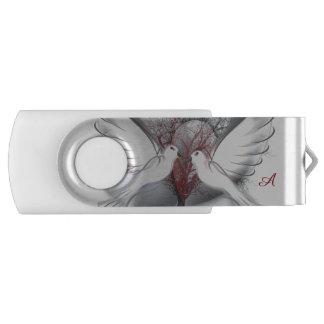 愛鳩のモノグラムドライブ8 GBの旋回装置USBのフラッシュ USBフラッシュドライブ