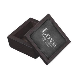 愛黒板の名前入りな優れたギフト用の箱 ギフトボックス