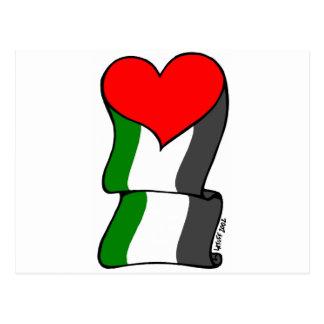 愛4パレスチナ! ポストカード