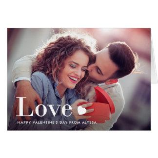 愛|あなたの個人的な写真およびハート カード