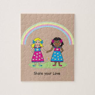 愛-すべてのための平等--を共有して下さい ジグソーパズル