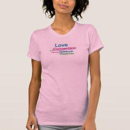 愛、つながり、感謝 Tシャツ