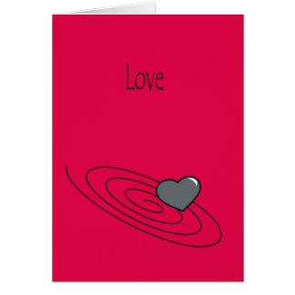 愛-できる間、それを楽しんで下さい カード