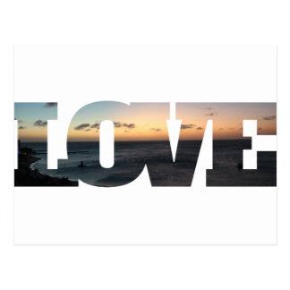 愛 はがき