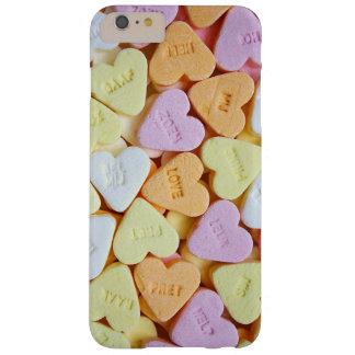 """""""愛""""キャンデーのハートの携帯電話の箱 BARELY THERE iPhone 6 PLUS ケース"""