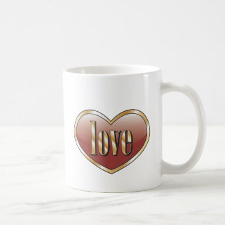 愛 コーヒーマグカップ