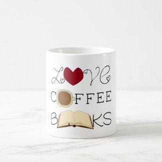 愛、コーヒー、本 コーヒーマグカップ