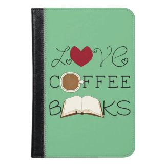 愛、コーヒー、本 iPad MINIケース
