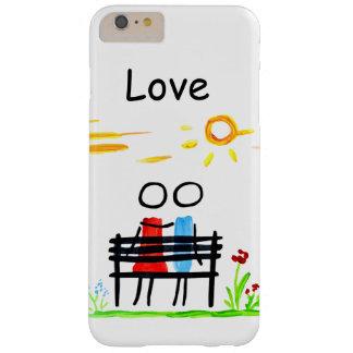 愛 スキニー iPhone 6 PLUS ケース