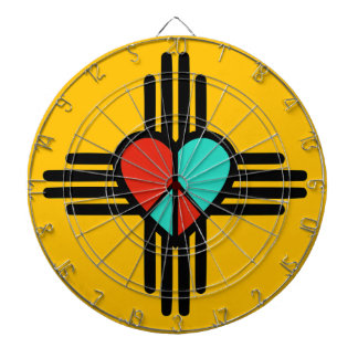 愛、ニューメキシコの平和 ダーツボード
