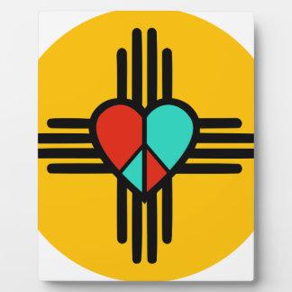 愛、ニューメキシコの平和 フォトプラーク