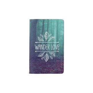 愛-ノート--はさまよいます ポケットMoleskineノートブック