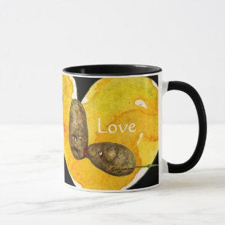 愛/ハートのマグのおもしろいなポテト マグカップ