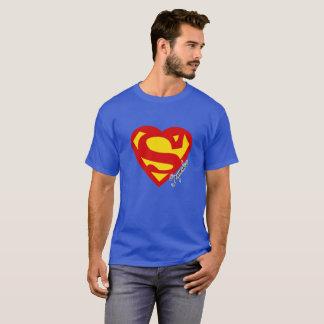 愛|ハート| SuperLove |のスーパーヒーロー Tシャツ