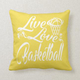 -愛-バスケットボールは住んでいます クッション