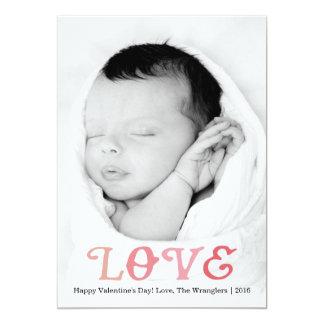 愛|バレンタインデーの写真カード カード
