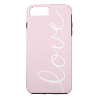 愛-ピンク- iPhoneの場合 iPhone 8 Plus/7 Plusケース