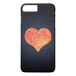 愛-プラス光沢があるピンクの金のiPhone 7やっと iPhone 8 Plus/7 Plusケース