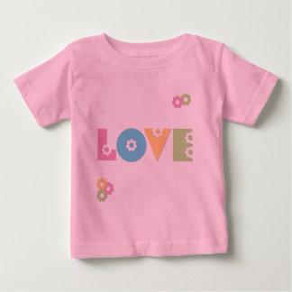 愛 ベビーTシャツ