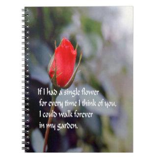 愛、人間関係、 ノートブック