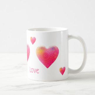 愛-夢-マグ コーヒーマグカップ