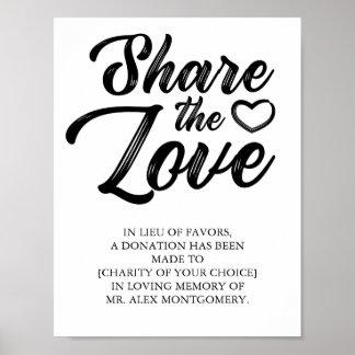 愛-好意の結婚の代理--を共有して下さい ポスター