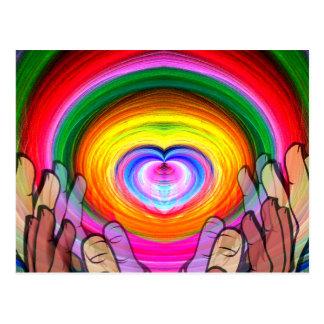 愛、平和及びUnity_ ポストカード