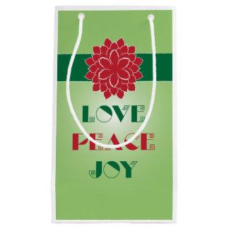 愛、平和、喜びI スモールペーパーバッグ