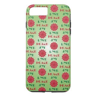 愛、平和、喜びI iPhone 8 PLUS/7 PLUSケース